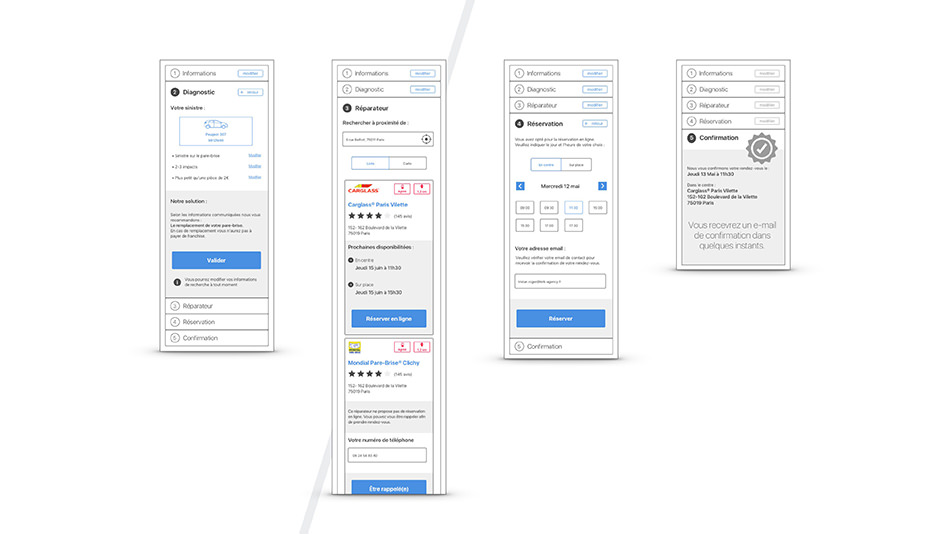 Wireframe mobile 2